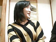44yr old Japanese Mom Squirts and Creampied..