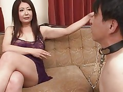 Japanese Mature Ayano Murasaki and Slave..