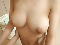 Pretty Busty Japanese Girl's Hot Hairy Cunt..