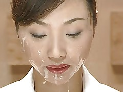 Japan News with Cumshots. Scene 1
